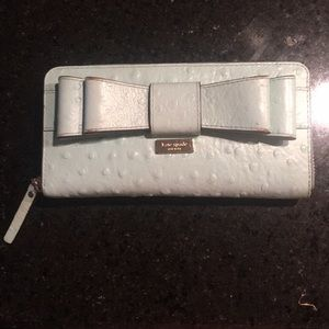 Kate Spade Zip Around Bow Wallet